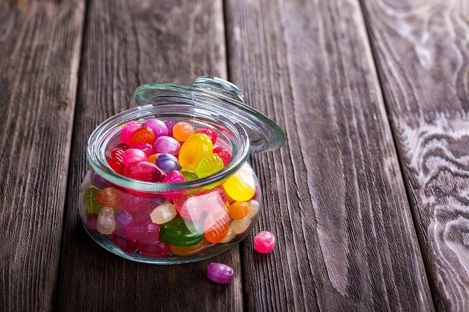 duży apetyt na słodycze