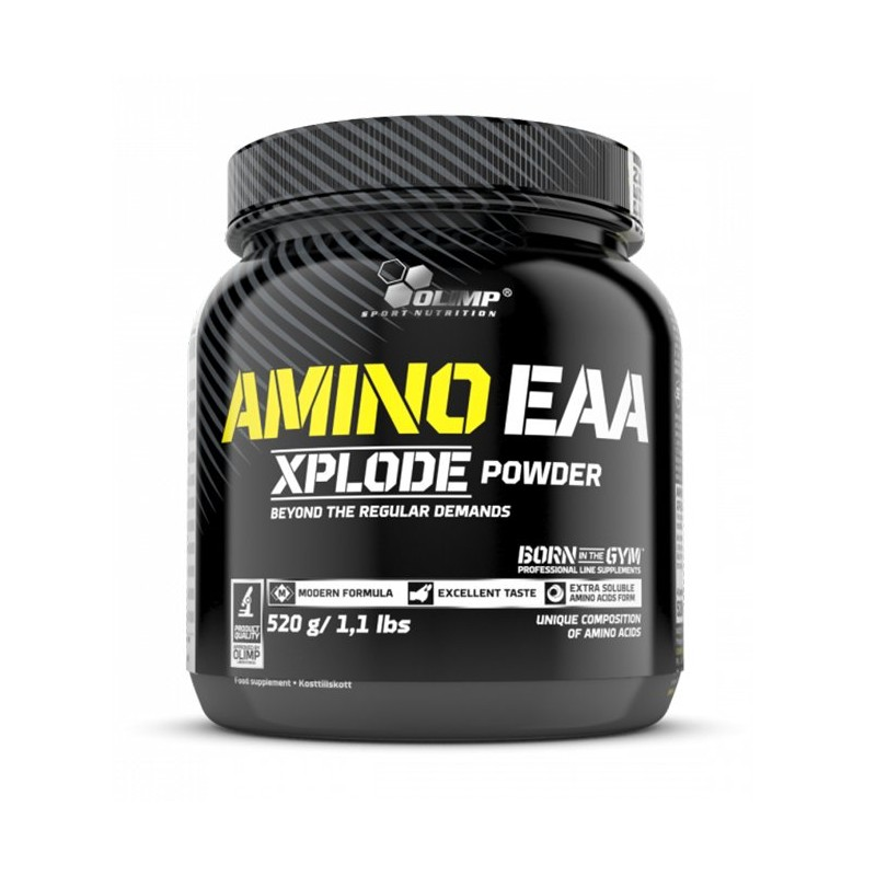 Dlaczego warto stosować OLIMP Aminokwasy Amino EAA XPLODE?